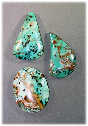 Natural African Turquoise - Jasper