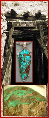 The Tiffany Turquoise  Mine - Cerrillos Turquoise from New Mexico