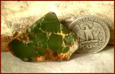 Look at this killer millitary green royston turquoise